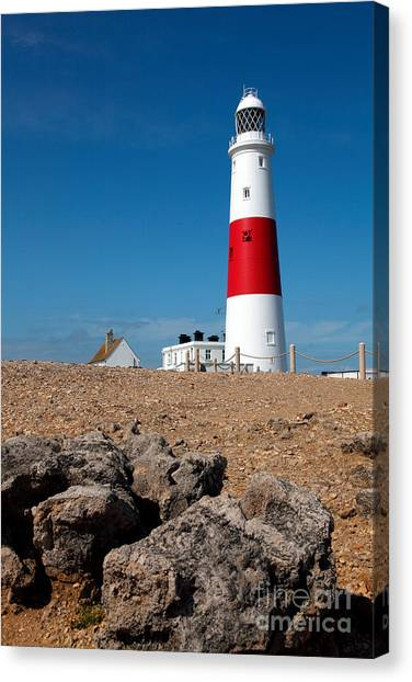 Lighthouse Vertical Canvas Print