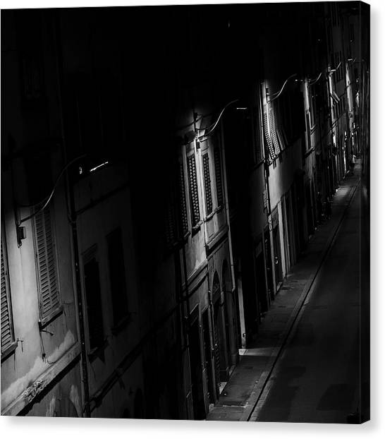 Lights In The Night Canvas Print