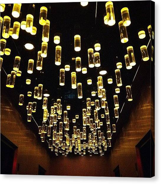 Hotels Canvas Print - Lights by Natasha Marco