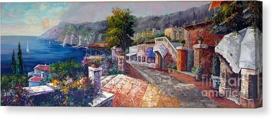 Like A Fairytale Canvas Print by Kostas Dendrinos