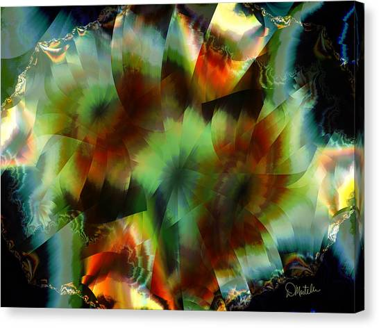 Like Stained Glass Canvas Print