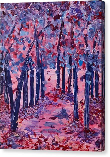 Lilac Avenue Canvas Print