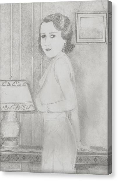 Lillian Canvas Print by Jami Cirotti