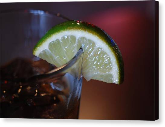Lime Time Canvas Print
