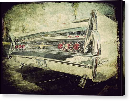 Lincoln Continental Canvas Print