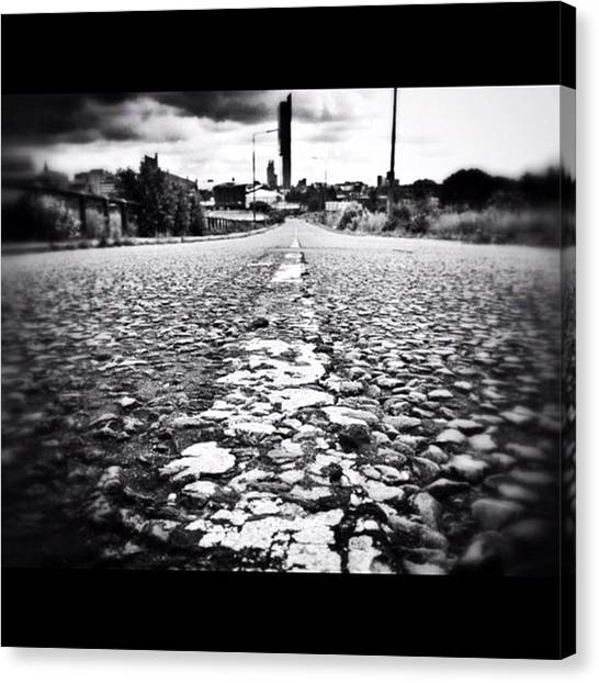 Weather Canvas Print - #linegasm #texture #manchester #mcr by Ritchie Garrod