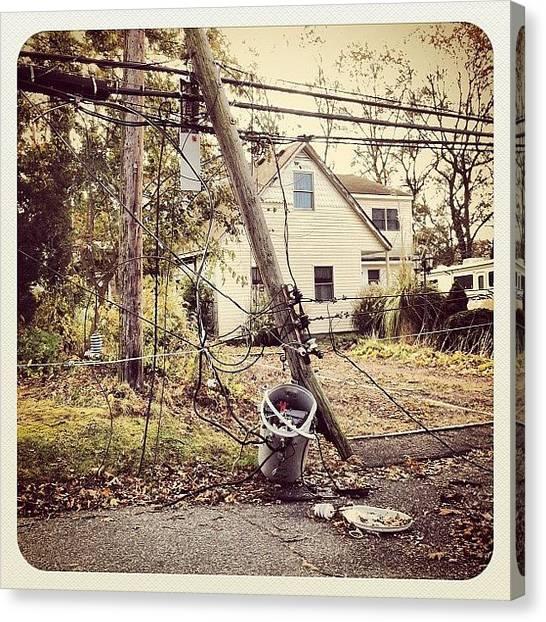 Hurricanes Canvas Print - Lipa #hurricane #lipa #inept #fail by Craig Kempf