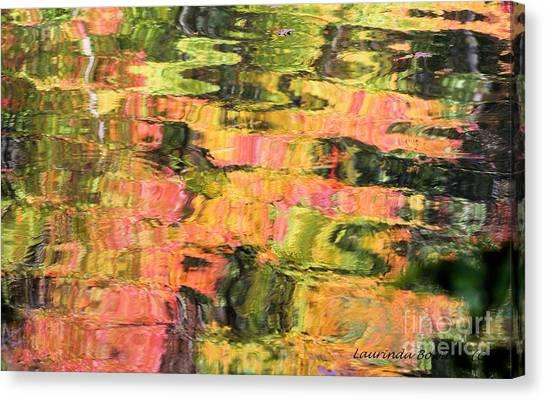 Liquid Colors Canvas Print