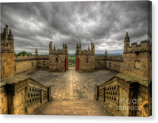 Little Castle Entrance - Bolsover Castle Canvas Print