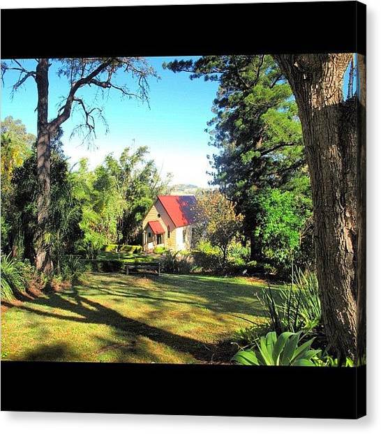 Winery Canvas Print - Little Church @ Warrego Winery #quaint by Avril O