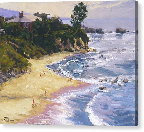Little Corona High Tide Canvas Print