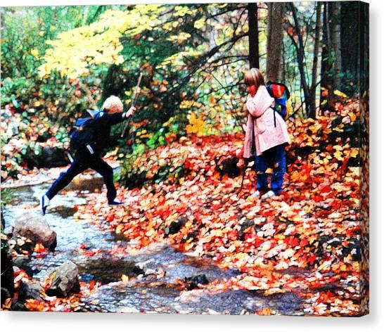 Little Explorers 2 Canvas Print
