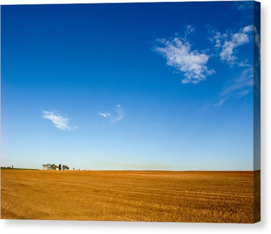Little House On The Prairie Canvas Print