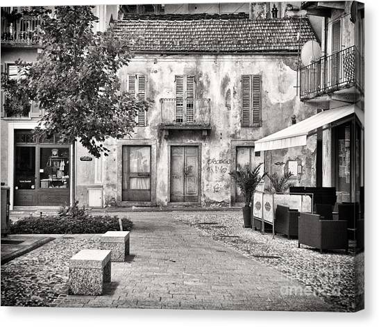 Little Italian Corner Canvas Print