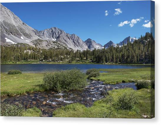 Little Lakes Valley Canvas Print