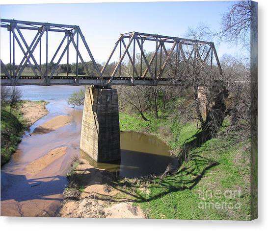 Little Llano Creek Canvas Print
