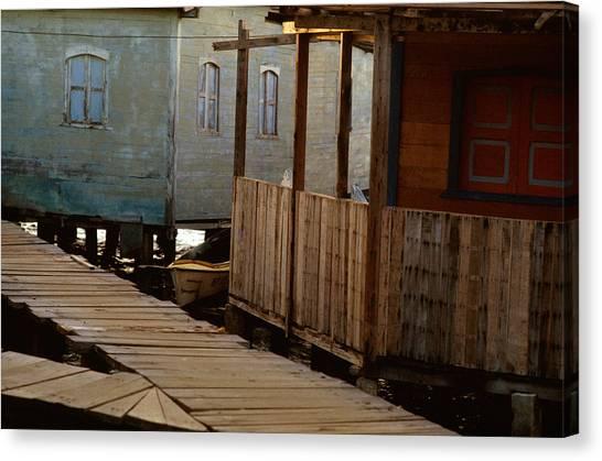 Little Venice Maracaibo Venezuela Canvas Print by Carlos Diaz