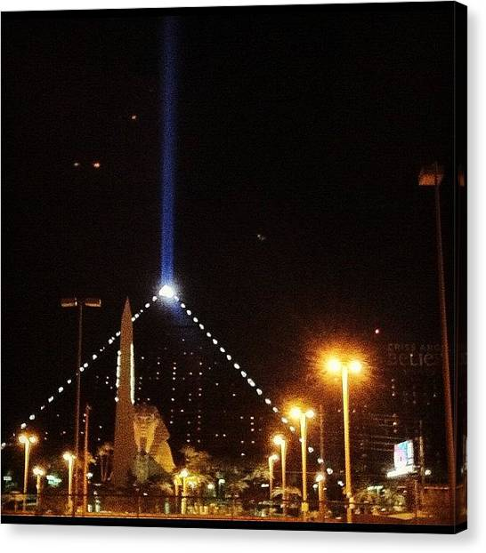Hurricanes Canvas Print - Live From Las Vegas! Hey @wolfmann70 by Hurricane Katrina