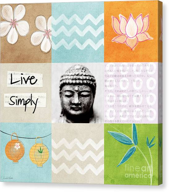 Blossom Canvas Print - Live Simply by Linda Woods