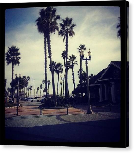 Lightning Canvas Print - Livin' This Cali Life. No Other Place by Jonny Lightning