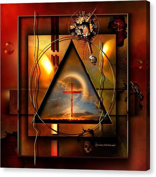 Rebirth Canvas Print - Living Hope by Franziskus Pfleghart