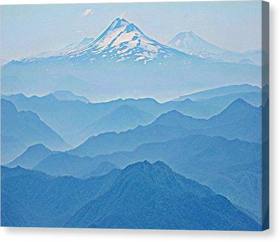 Llaima From Villarica Canvas Print