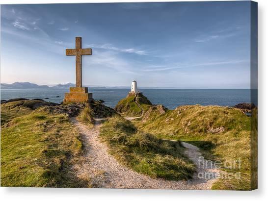 Llanddwyn Island Canvas Print - Llanddwyn Island by Adrian Evans