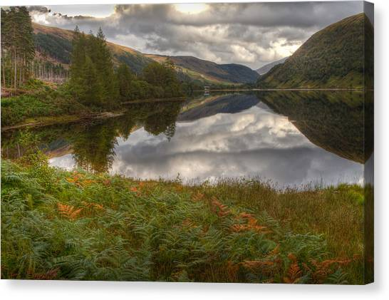 Loch Dughaill Scotland Uk Canvas Print