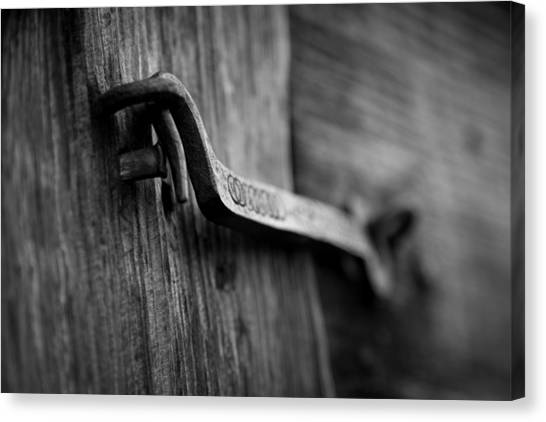 Iron Hinge #2 Canvas Print by Vintage Pix