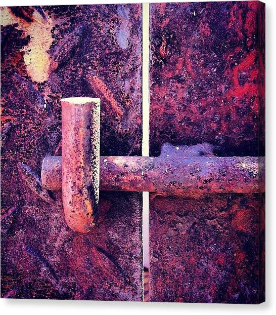 Surface Canvas Print - Locked by Zachary Voo