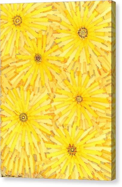 Loire Sunflowers One Canvas Print by Jason Messinger