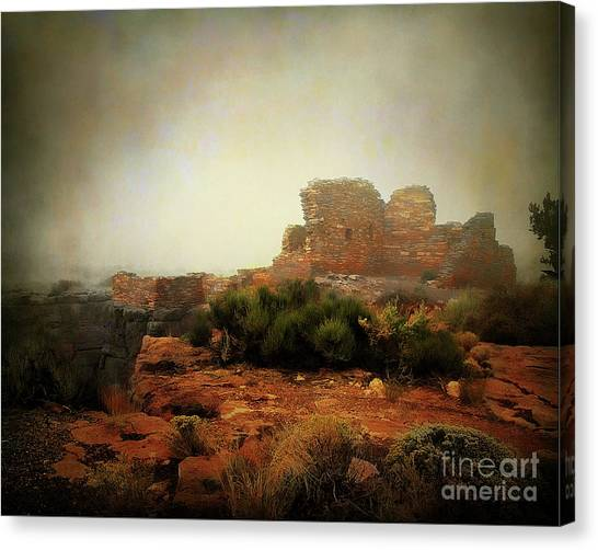 Van Goughs Ear Canvas Print - Lomaki Pueblo by Arne Hansen