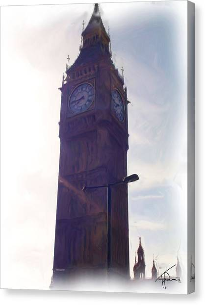 London Big Ben Canvas Print by Thomas Frias