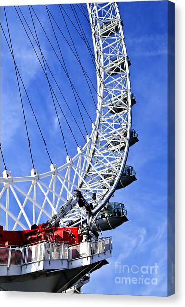 London Eye Canvas Print - London Eye by Elena Elisseeva