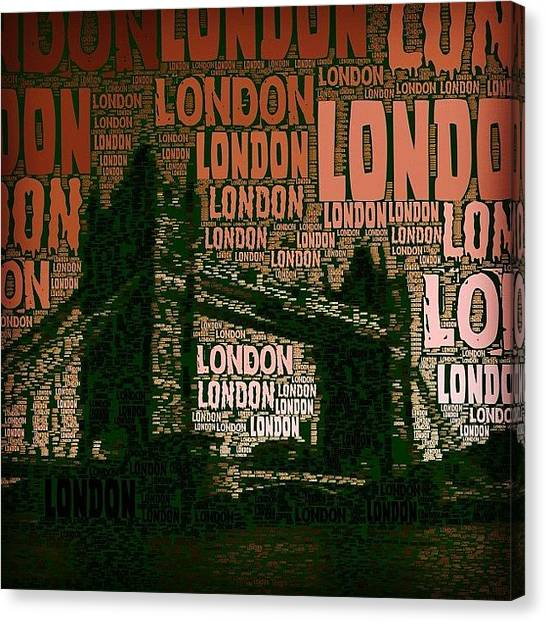 London Canvas Print - #london Just London by Ozan Goren