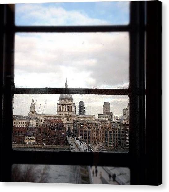 Landmark Canvas Print - London Love Affair #photooftheday by A Rey