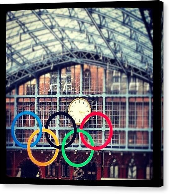 London2012 Canvas Print - London. The Olympic City by Matt Rhodes