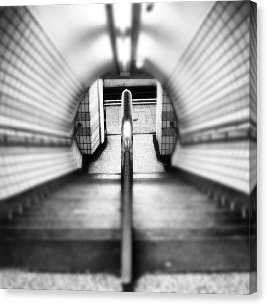 London Canvas Print - #london #uk May 2012| #underground by Abdelrahman Alawwad