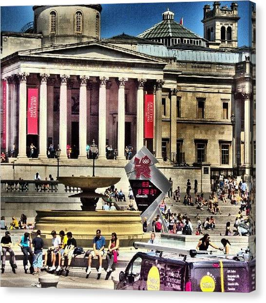 London2012 Canvas Print - #london2012 #london #uk #summer2012 by Abdelrahman Alawwad