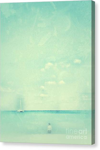 Lone Figure Canvas Print