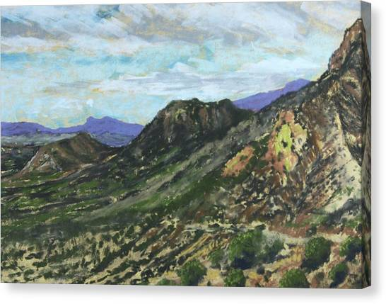 Lone Mountain Canvas Print