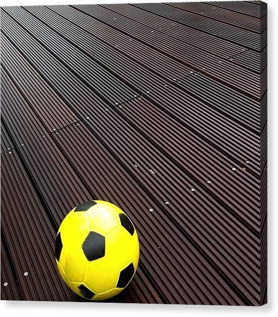 Presents Canvas Print - Lonely Football by Book Walk