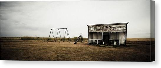 Lonesome Playground Canvas Print