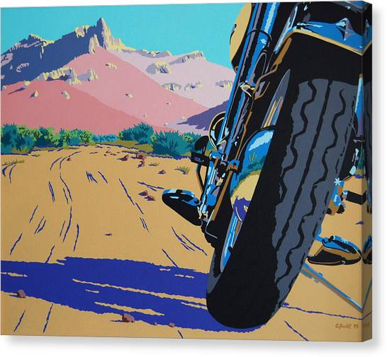 Lonesome Trail Canvas Print