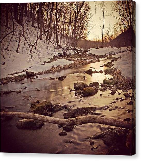 Wisconsin Canvas Print - Long Flow Home | #instagram #viroqua by Tony Macasaet