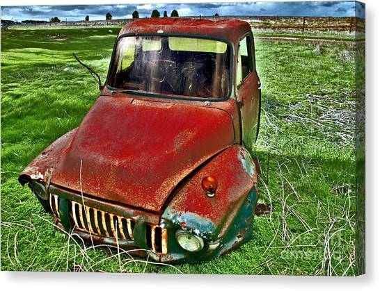 Long Term Parking Canvas Print