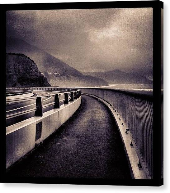 Saints Canvas Print - Long Way Home #iphoneography by Kendall Saint
