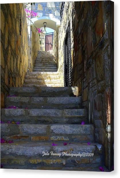 Long Way Up Canvas Print