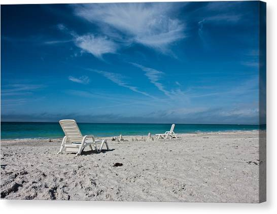 Sandcastle Canvas Print - Longboat Key  by Betsy Knapp
