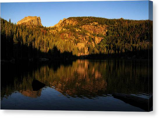 Longs And Halleck Peaks Canvas Print